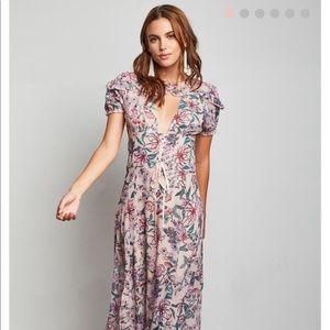FLOWER CALL JUNIORS FLORAL MAXI DRESS